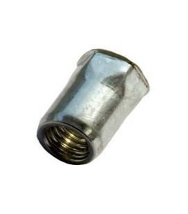 Заклепка M6*15,5 мм из стали с внутренней резьбой, уменьшенный бортик, полушестигранная