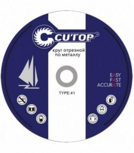Круг отрезной по металлу Cutop Profi T41 150x2,5x22,2 мм