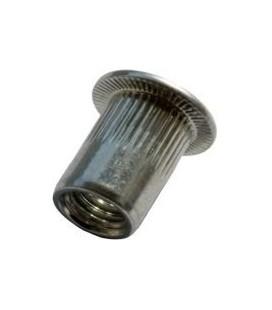 Заклепка резьбовая стальная 02ST01F06020 M6*17,5 мм